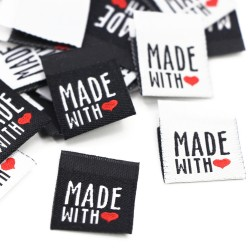 """Label """"Made With Love"""" - 10 St."""