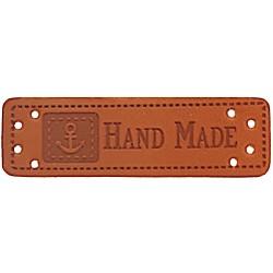 "Label ""Handmade"" mit Ankermotiv - 10 St."