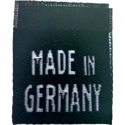 """Label """"MADE IN GERMANY"""" aus Stoff - 10 St."""