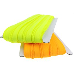 Endlos Spiralzipper #5 neon - 2 x 10m