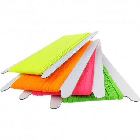 Flachgummi 6 Neon - 25m