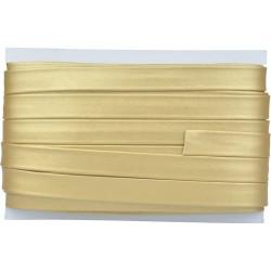 Schrägband aus glattem Kunstleder