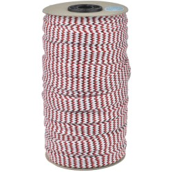 Flat Cotton Cord Copper Lurex No. 20 - 25m