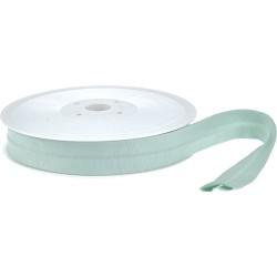Schrägband uni - lemongrün