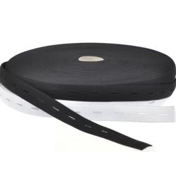 Knopflochgummiband - 18mm