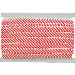 Schrägband mit Häkelborte - 20m