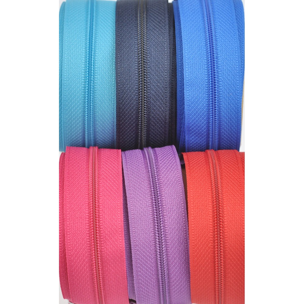 6m SR3+18 Schieber - pink, rot, violett, türkis, royalblau, marine
