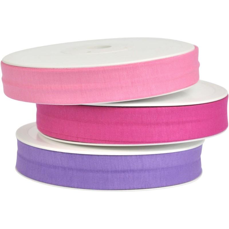 3x20m - pink/rosa/violett