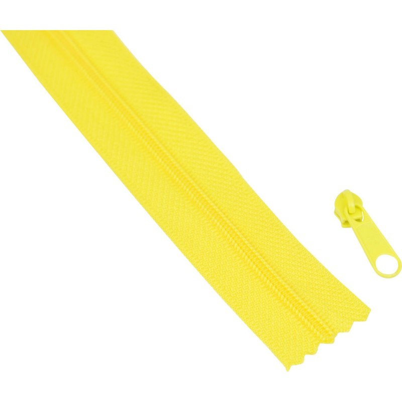 10m Tape + 30 Sliders - 0109 yellow