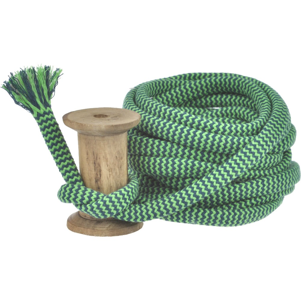 4m - Zig Zag hellgrün/dunkelgrün