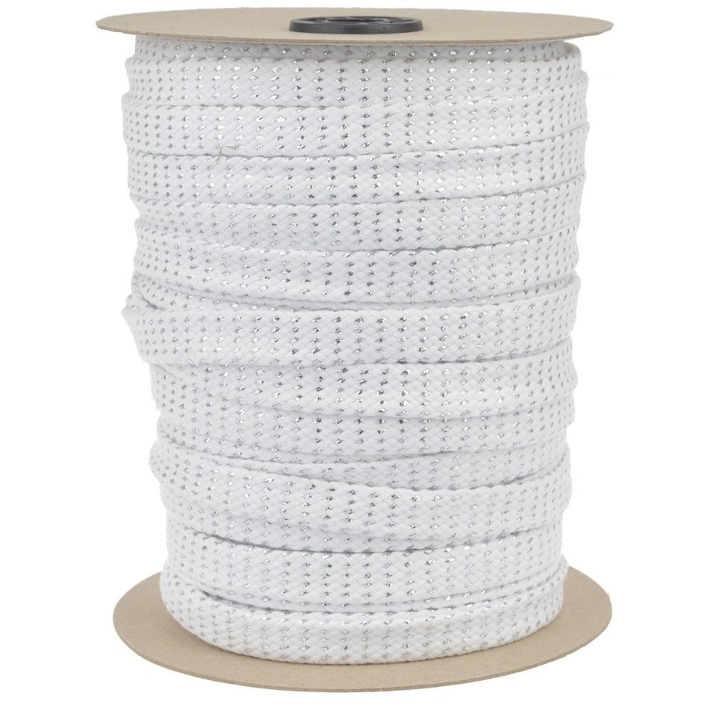 50m - 0011 weiß-silber