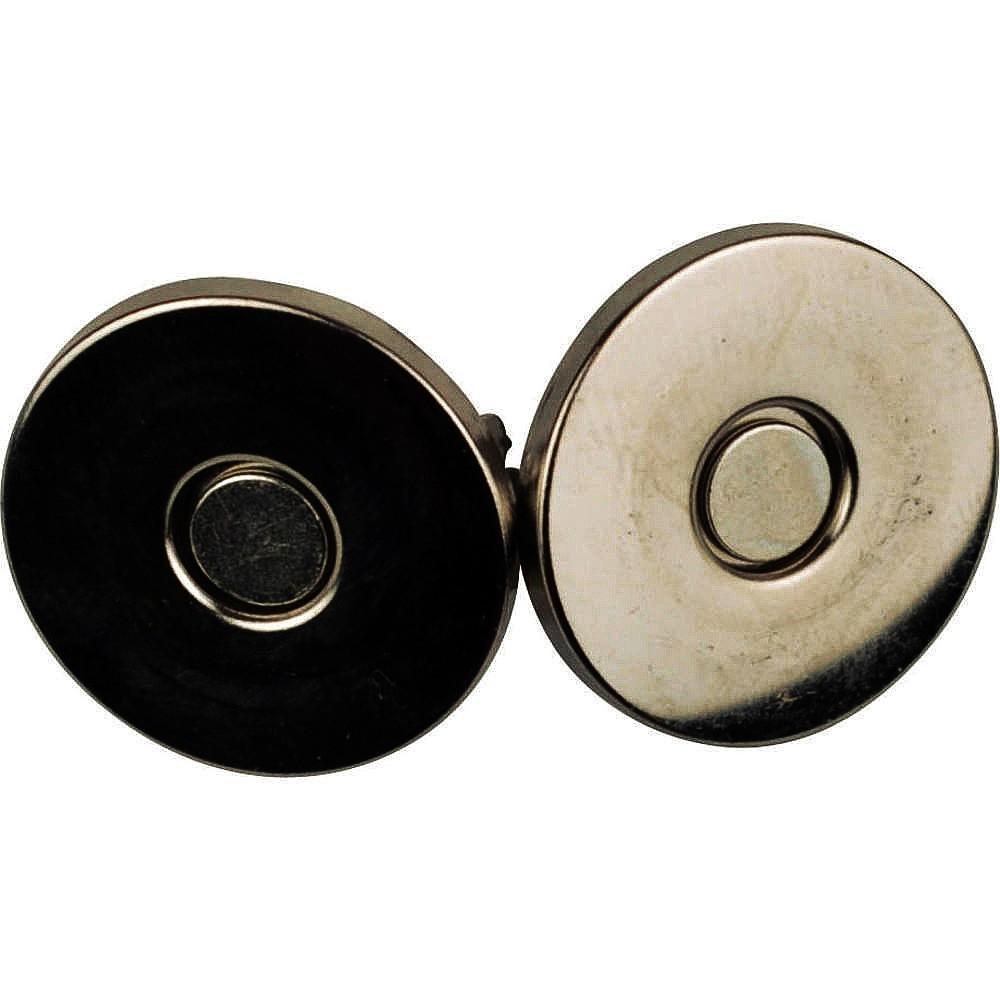 10St. - 0120 Magnetverschluss altgoldfarben, 18mm