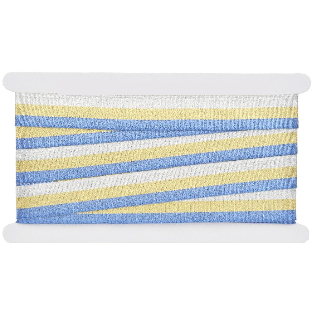 25m - Lurexband 4, 25mm breit