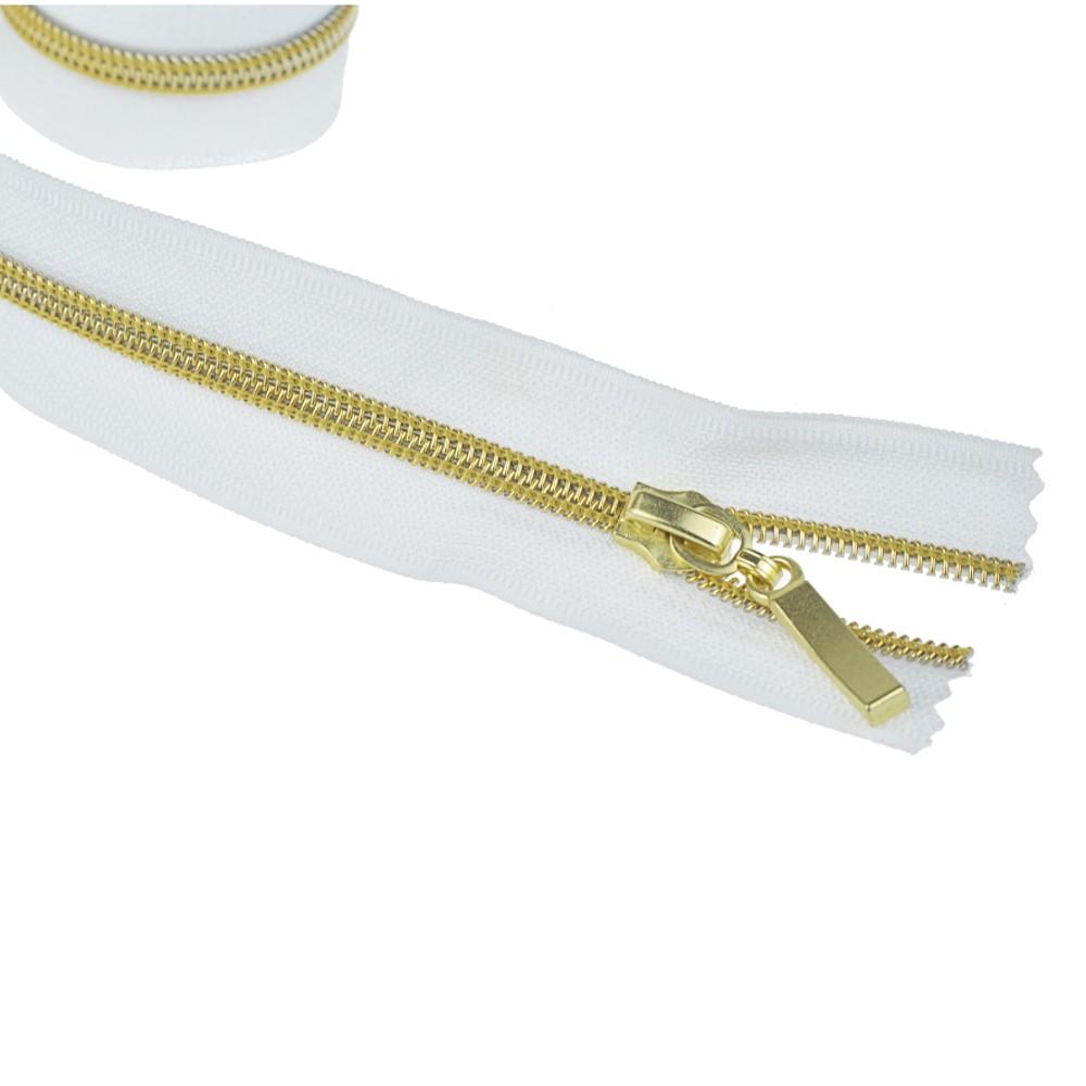 goldfarben/weiß - 50m