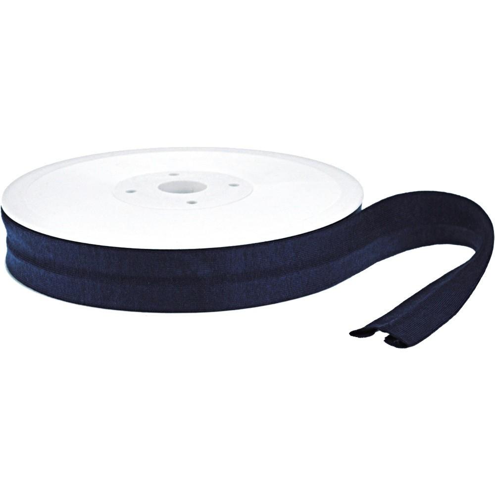 20m - 0117 NAVY - Schrägband Jersey 20/10 mm
