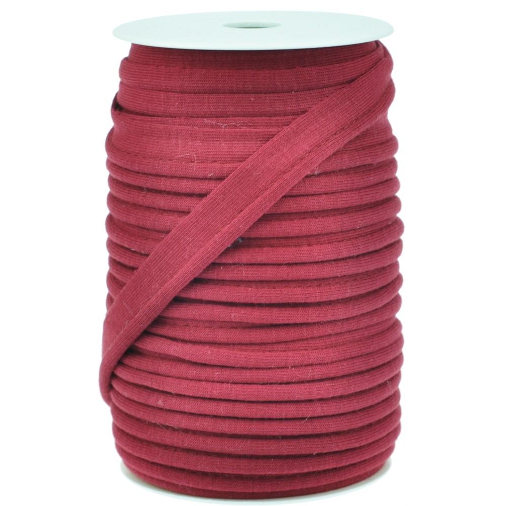 20m - 0332 BIKING RED  - Paspelband Jersey 15 mm
