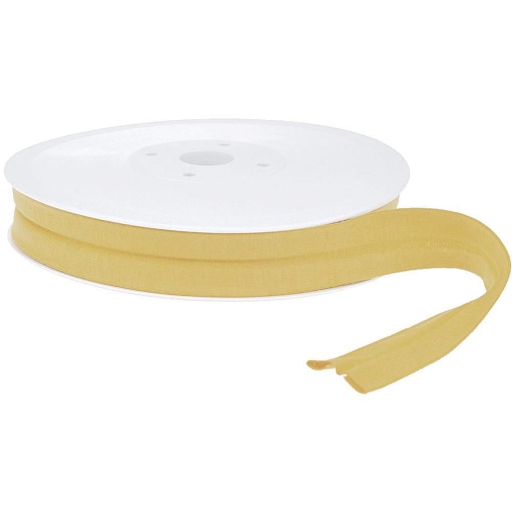 20m - 0389 OCHRE - Schrägband Jersey 20/10 mm