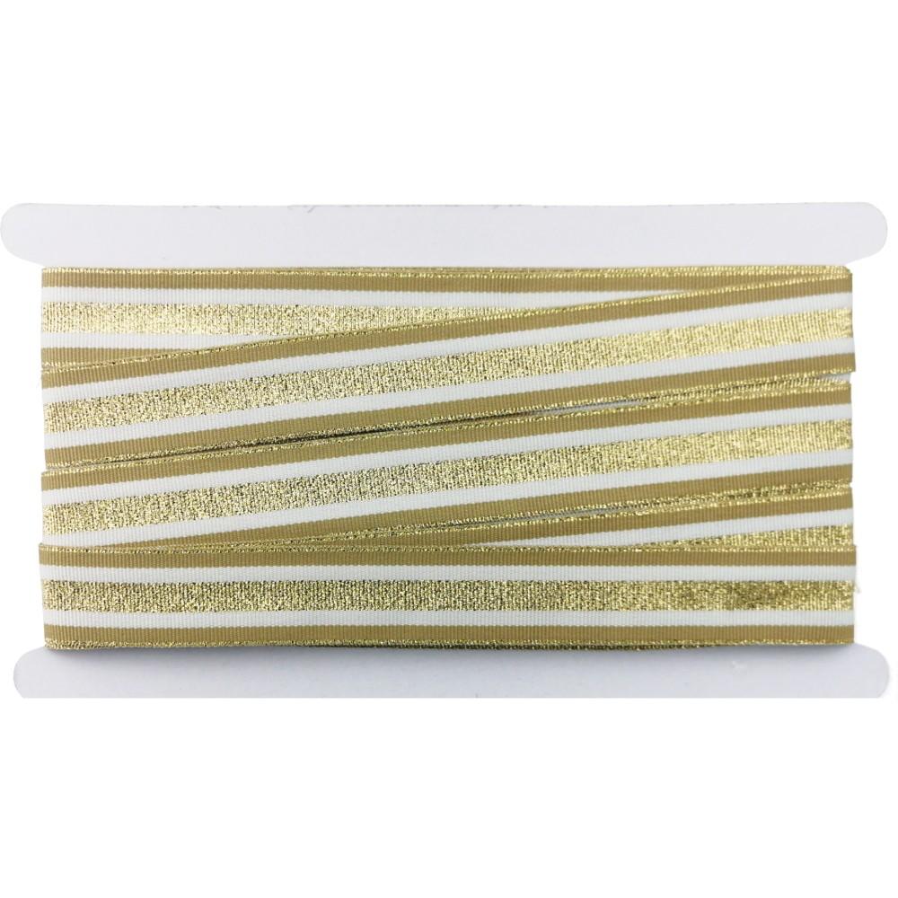 12m - Lurexband Design 2/127-1, 25mm breit