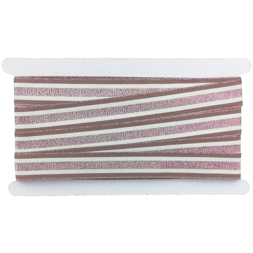 12m - Lurexband Design 2/126-3, 25mm breit