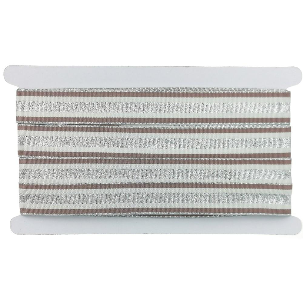12m - Lurexband Design 2/126-1, 25mm breit