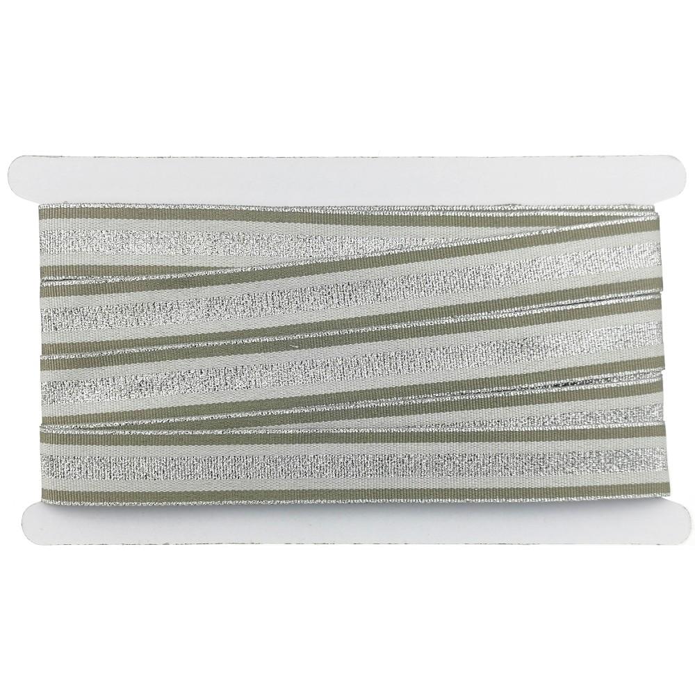 12m - Lurexband Design 2/126-4, 25mm breit