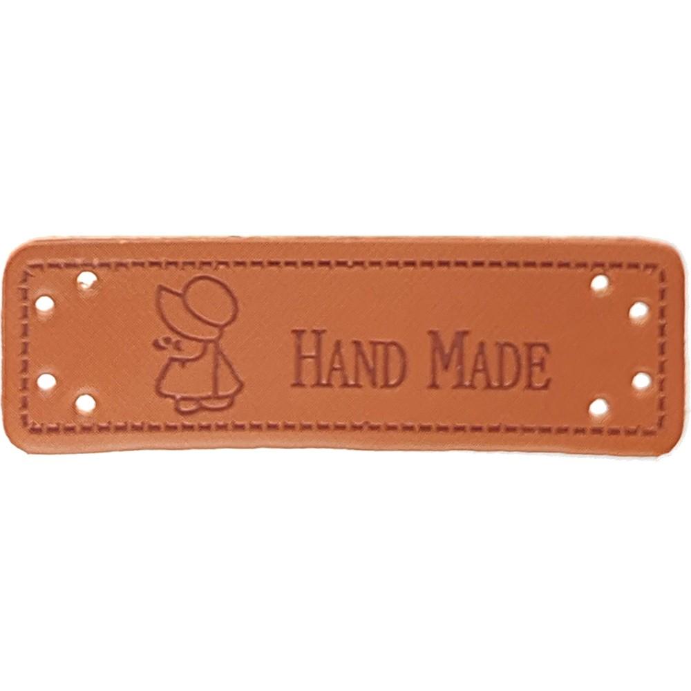 """0006 - Aufschrift """"Hand Made"""", Motiv Sunbonnet Sue"""