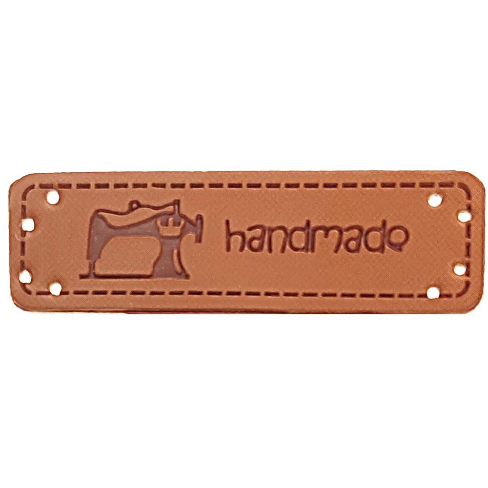 """0002 - Aufschrift """"Handmade"""", Motiv Nähmaschine"""
