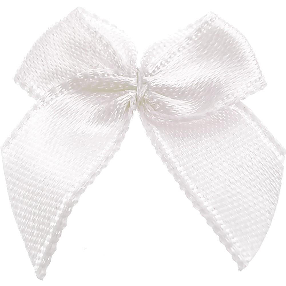 20 St. - 0001 Minischleife weiß