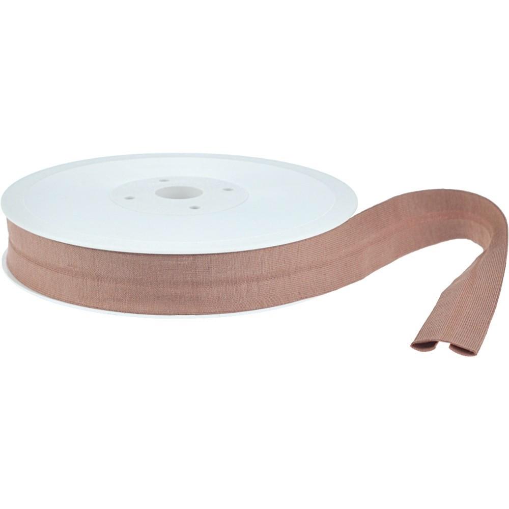 20m - 0232 WaTAUPE - Schrägband 20/10 mm