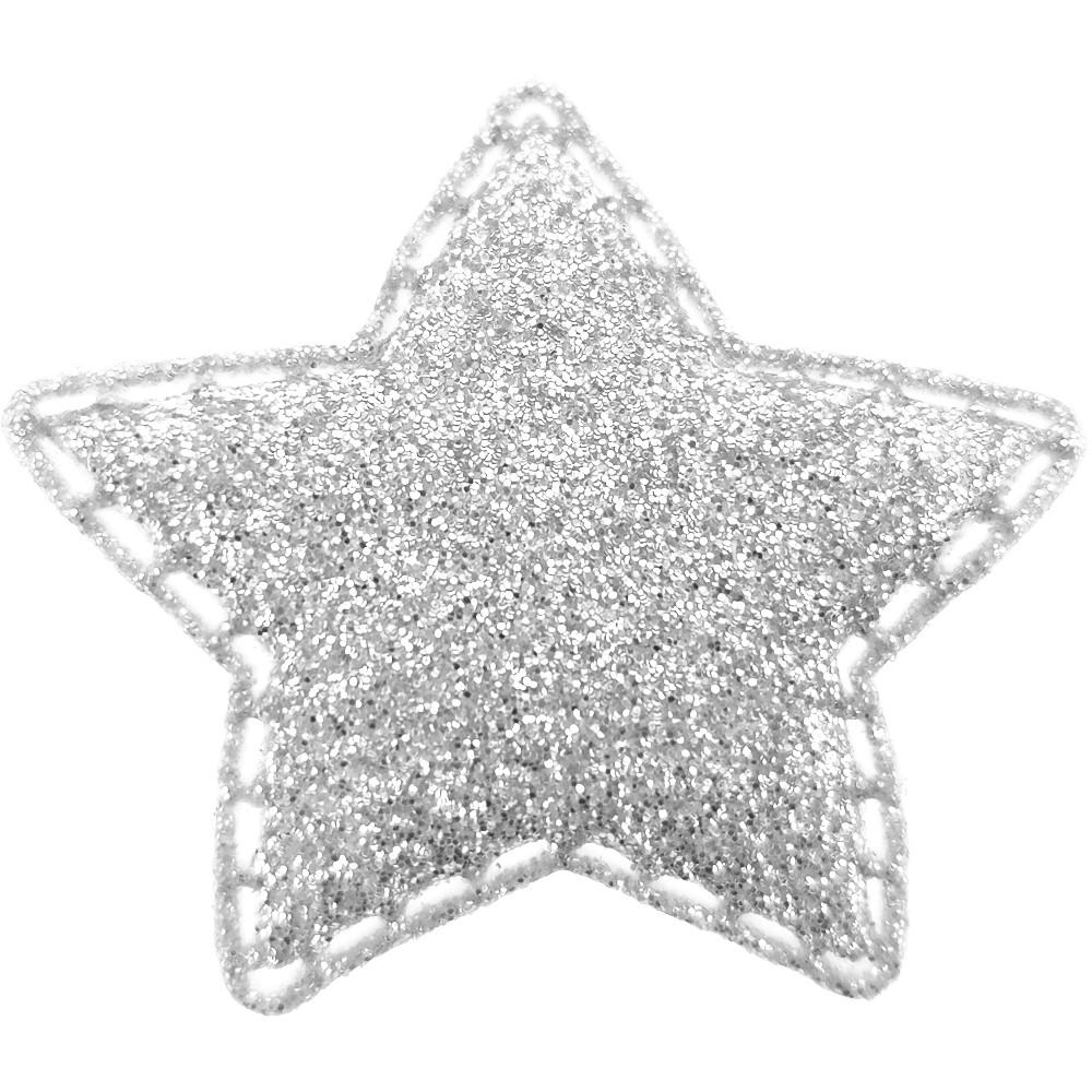 20 St. - Stern silber, 35 x 35mm