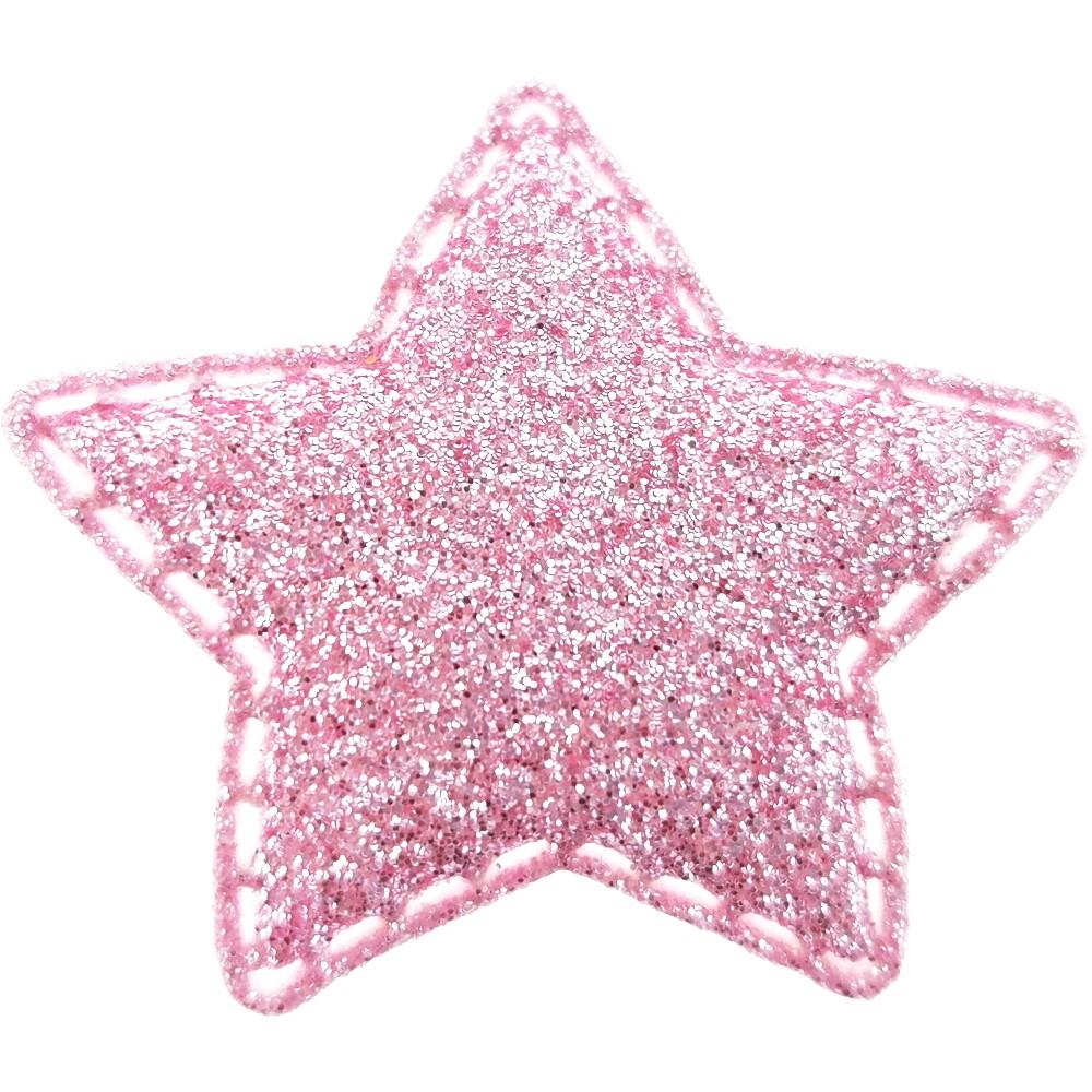 20 St. - Stern rosa, 35 x 35mm