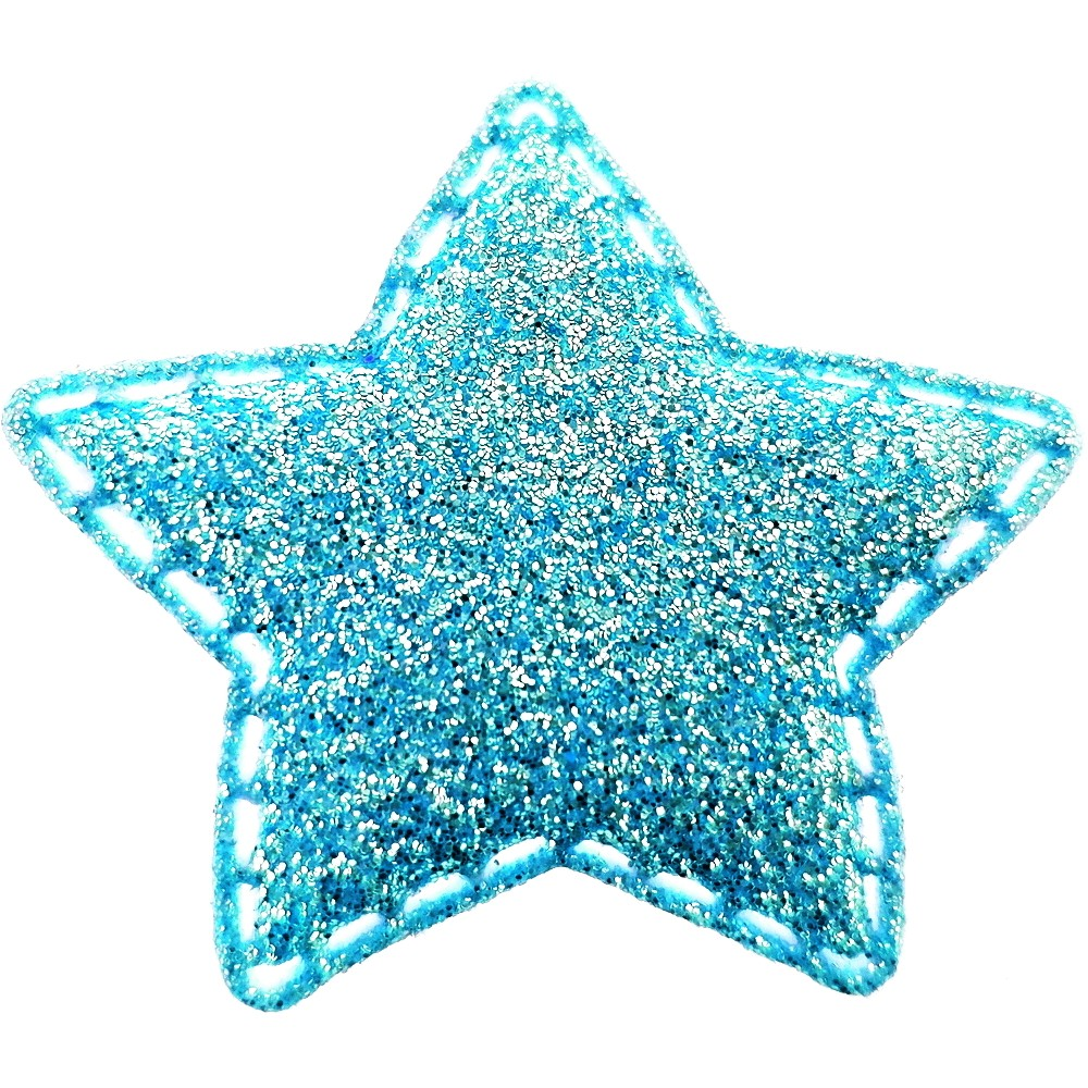 20 St. - Stern blau, 35 x 35mm