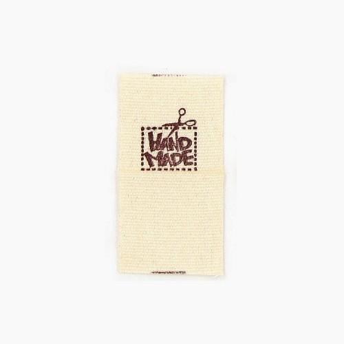 """BW-Label mit Aufschrift """"Handmade"""""""