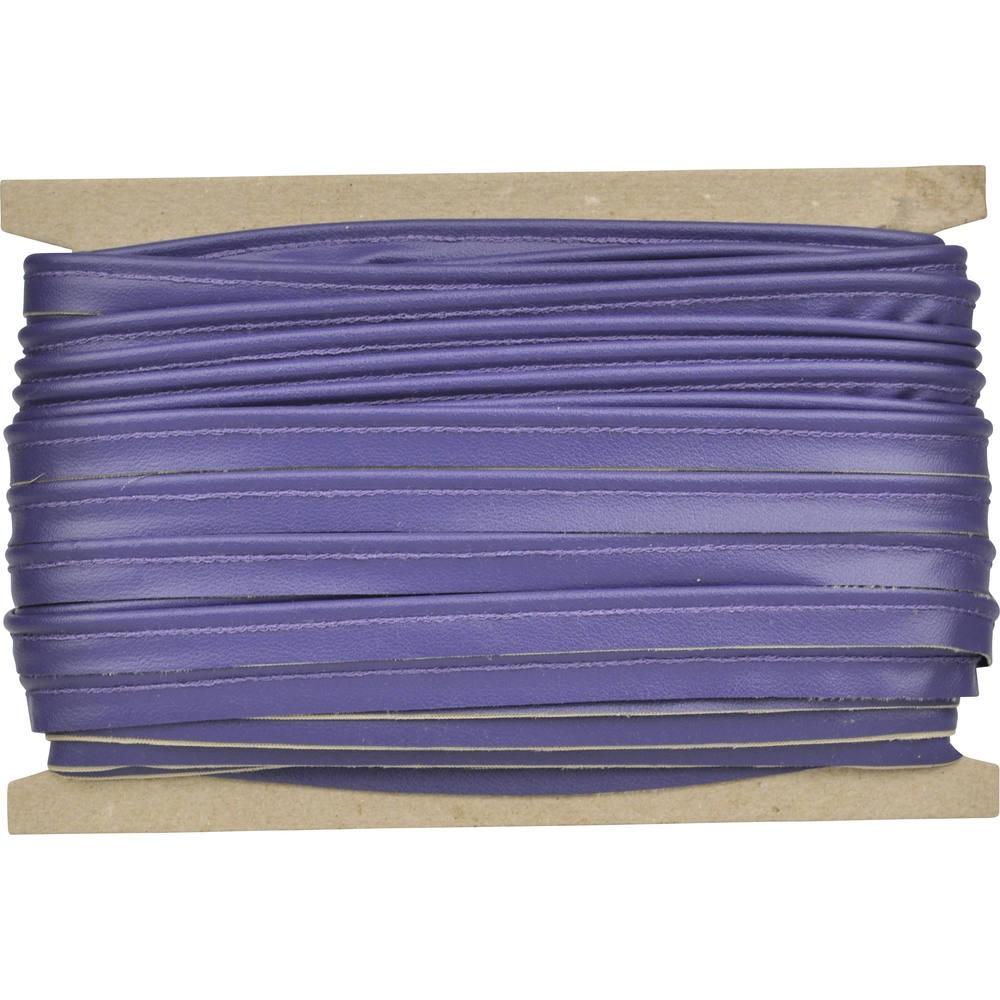 blauviolett genarbt