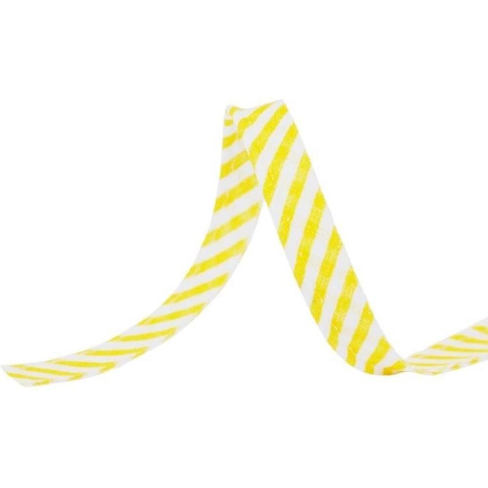 25m - 1011 Streifen gelb