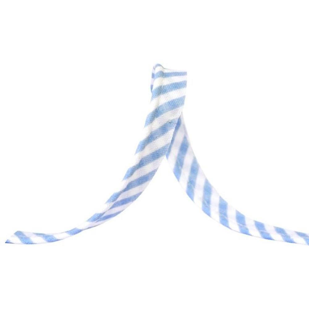 25m - 1053 Streifen hellblau
