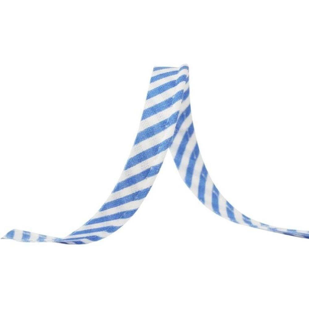 25m - 1041 Streifen blau