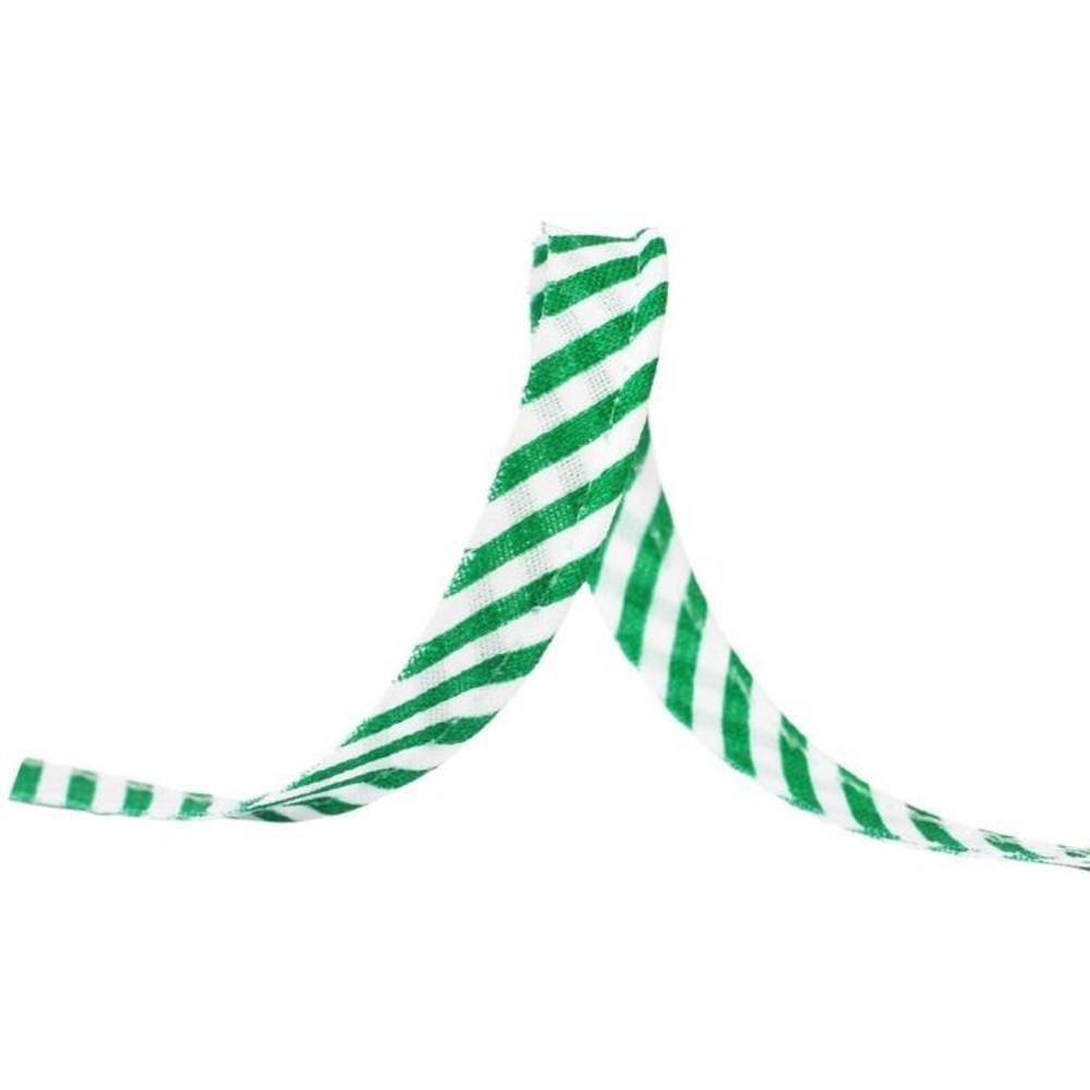 25m - 1055 Streifen grün