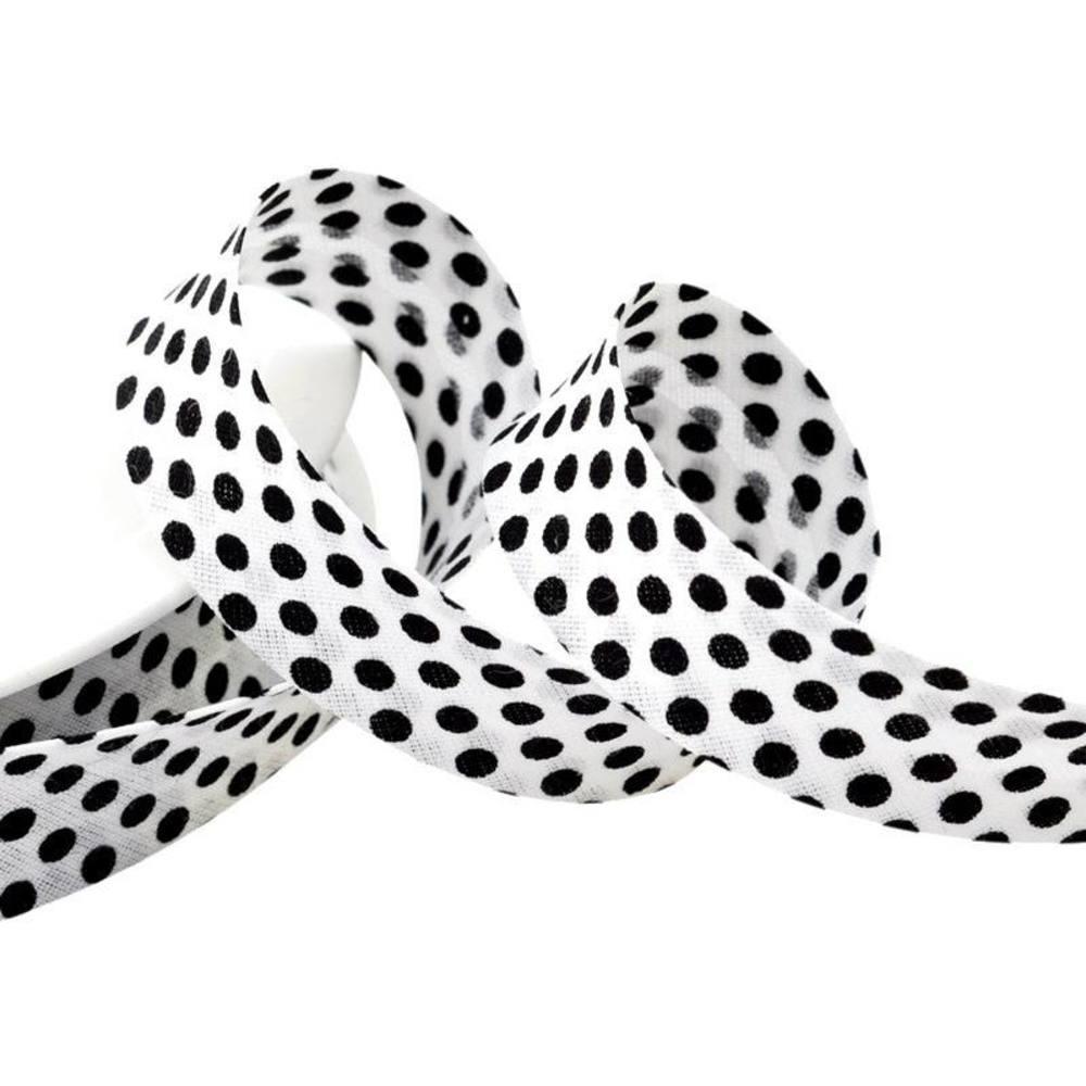 Punkte weiß - schwarz