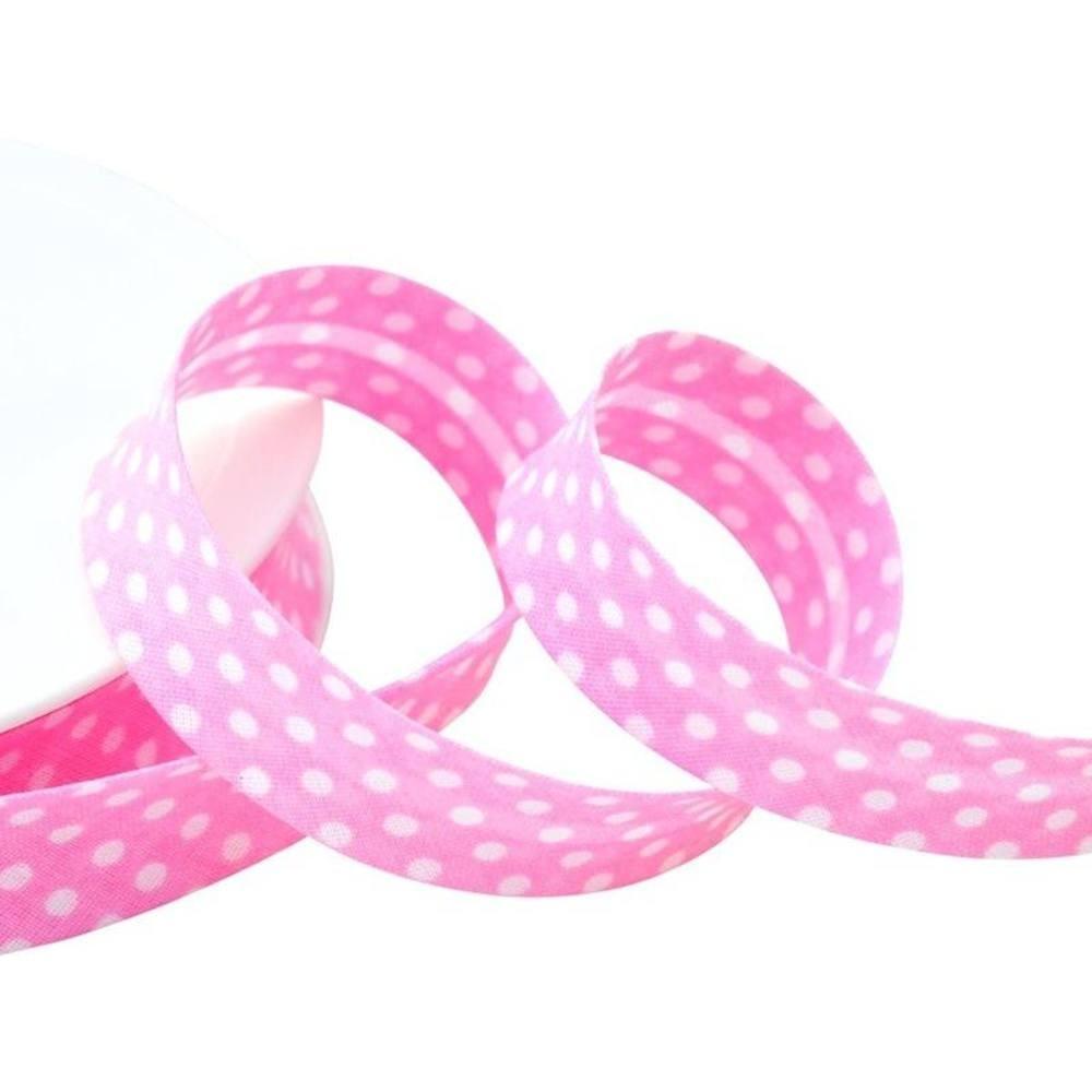 Punkte rosa - weiß