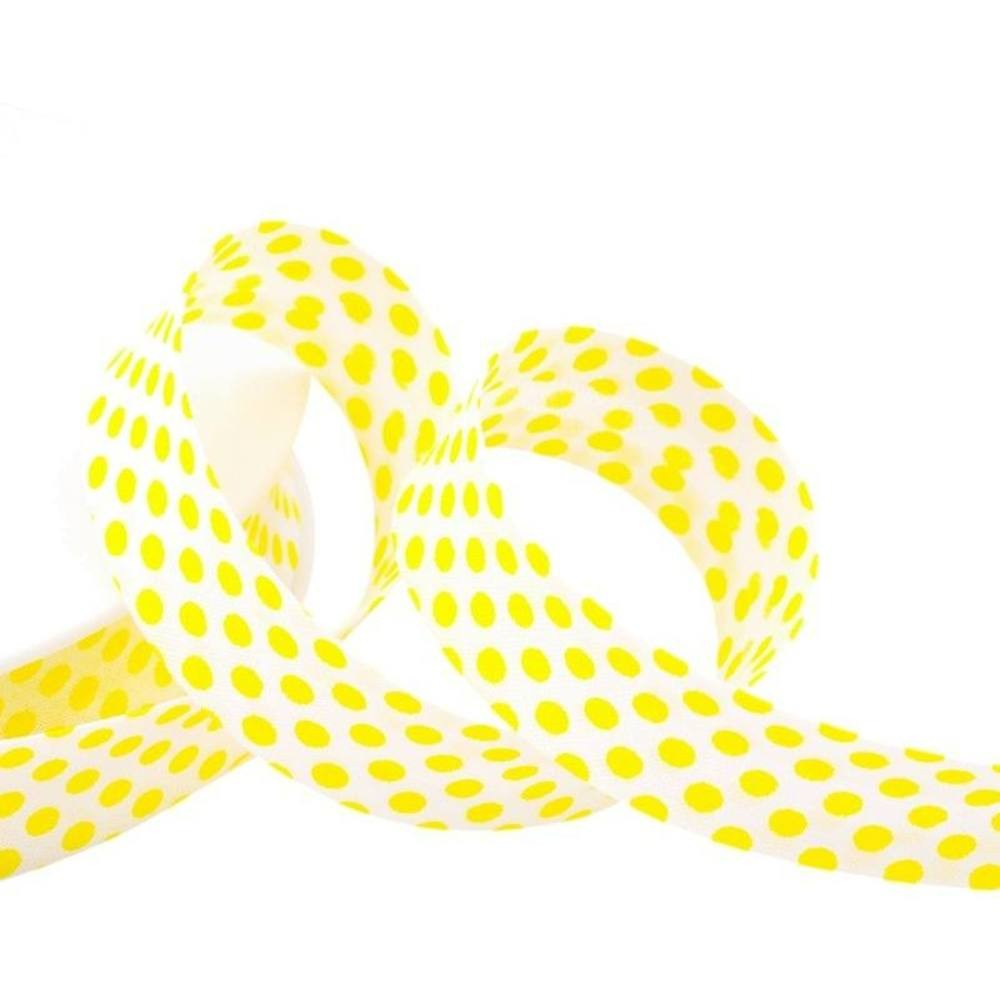 Punkte gelb - weiß