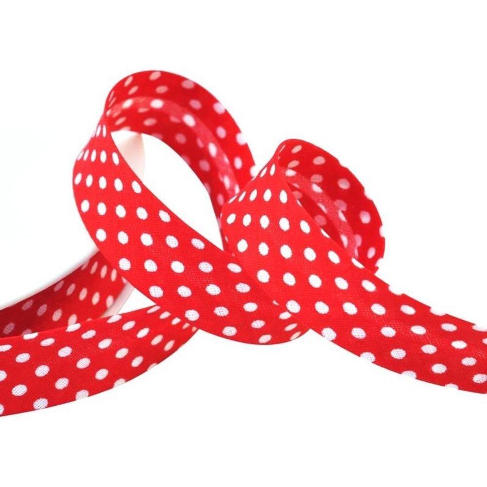 Punkte rot - weiß