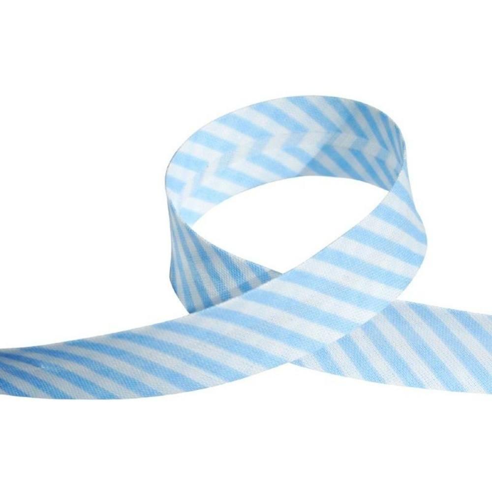 Streifen hellblau