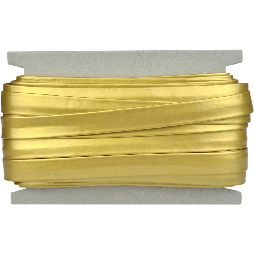 20m - 0014 goldfarben glatt glänzend
