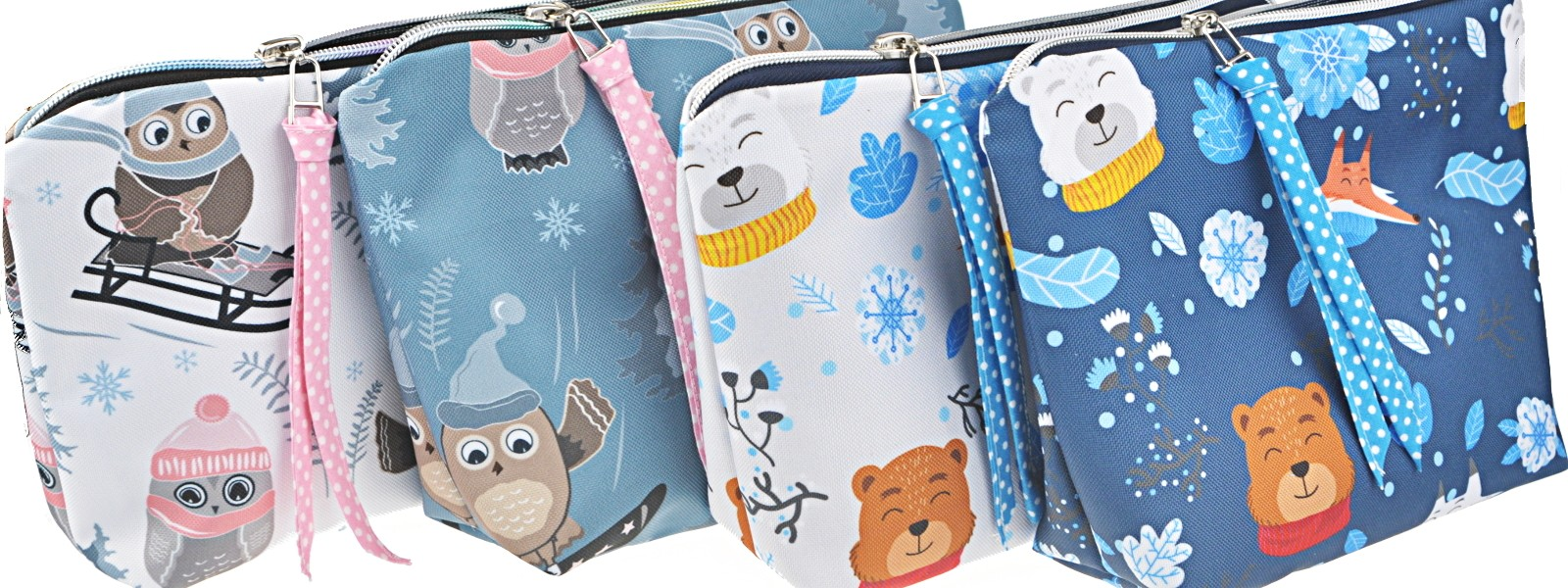 Washbags Wintertiere